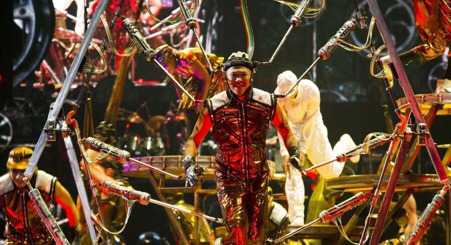 Cirque du Soleil optræder i Mexico.