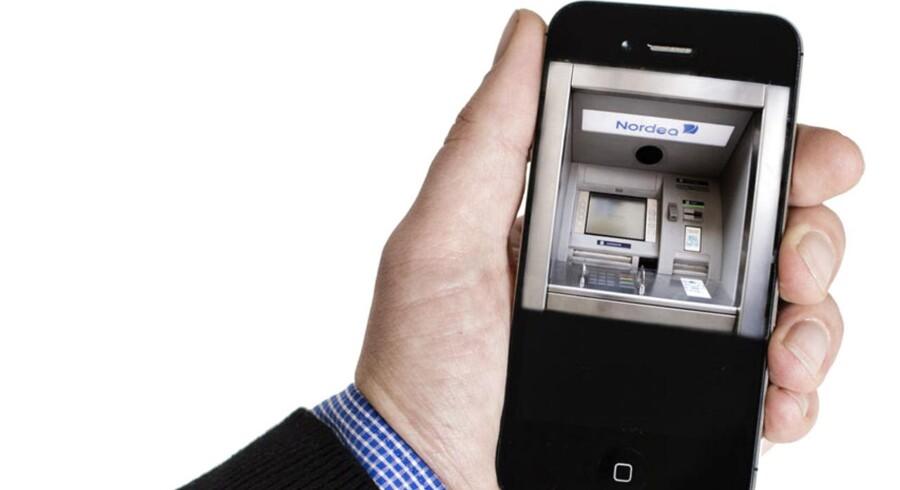 Snart vil man kunne overføre beløb på op til 1.500 kr. via mobilen.
