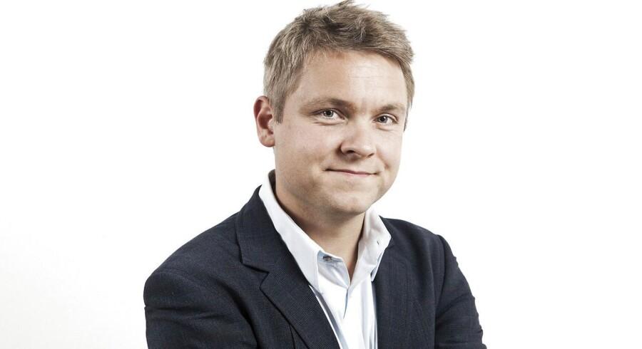 Business journalist Casper Schrøder.