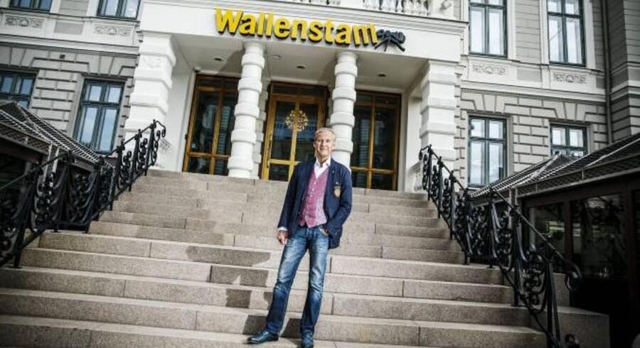 Hans Wallenstam understreger, at det skal kunne betale sig at arbejde, og at samfundet skal tage vare på dem, der ikke kan klare sig selv.Foto: Jeppe Bjrøn Vejlø