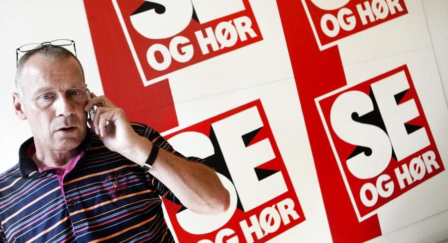 ARKIVFOTO 2009 af Kim Henningsen- - Se RB 22/5 2014 10.36. Også en anden tidligere chefredaktør ved Se og Hør, Kim Henningsen, er blevet sigtet i sagen. Han er dog på grund af sygdom ikke blevet anholdt, oplyser politiet. (Foto: Mads Nissen/Scanpix 2014)