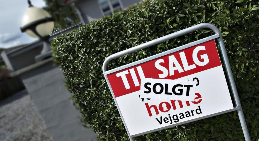 Danskere på jagt efter et nyt hjem kan godt begyndte at gøre sig klar til masser af åbent hus-arrangementer. ARKIVFOTO