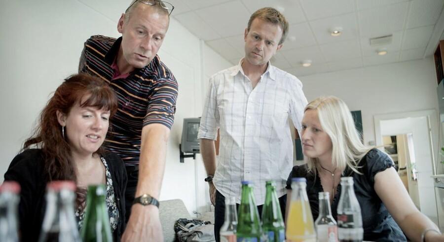 Tidligere nyhedschef på Se og Hør, Lise Bondesen (yderst tv)