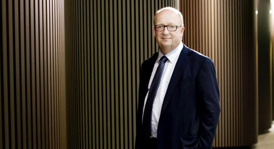 William Demants topchef Niels Jacobsen præsenterede torsdag regnskab for selskabets første halve år af 2014.