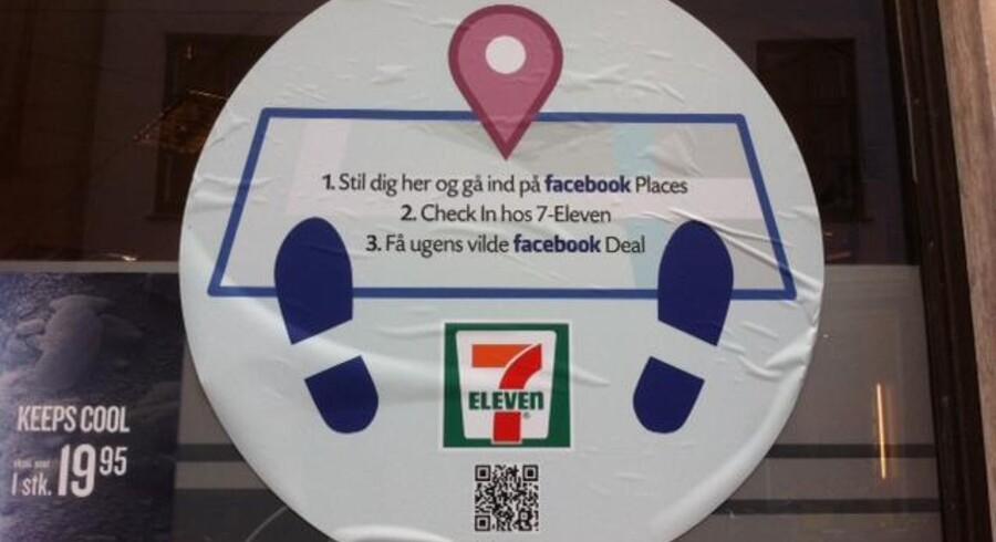Kioskkæden 7eleven og burgerkæden McDonald's er blandt de danske selskaber, der nu skyder Facebook Deals i gang i Danmark.