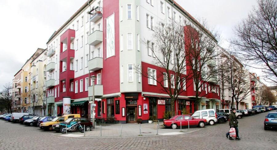 Tysk ejendomsselskab er i shoppehumør.