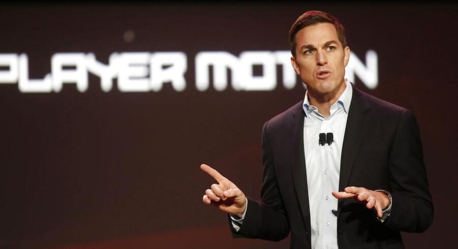 EA Sports' divisionschef, Andrew Wilson, overtager nu ledelsen af hele spilgiganten. Arkivfoto: Nick Adams, Reuters/Scanpix