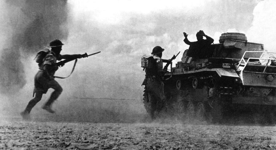 El Amein, vest for Alexandria, 25. oktober 1942.