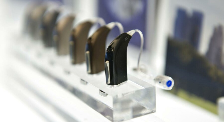Oticon høreapparater. Arkivfoto: Jens Nørgaard Larsen