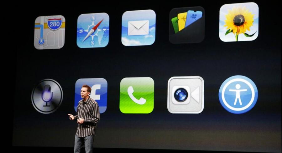 Scott Forstall, senior vice president for iOS Software hos Apple Inc.