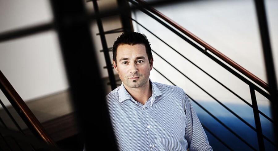Telenors topchef i Danmark, Marek Slacik, er ikke tilfreds med 2012-resultatet og vil nu fokusere på at få Telenors kunder til at købe mere. Foto: Jeppe Bjørn Vejlø