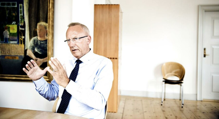 ARKIVFOTO 2015 af beskæftigelsesminister Jørn Neergaard Larsen (Foto: Mathias Løvgreen Bojesen/Scanpix 2015)