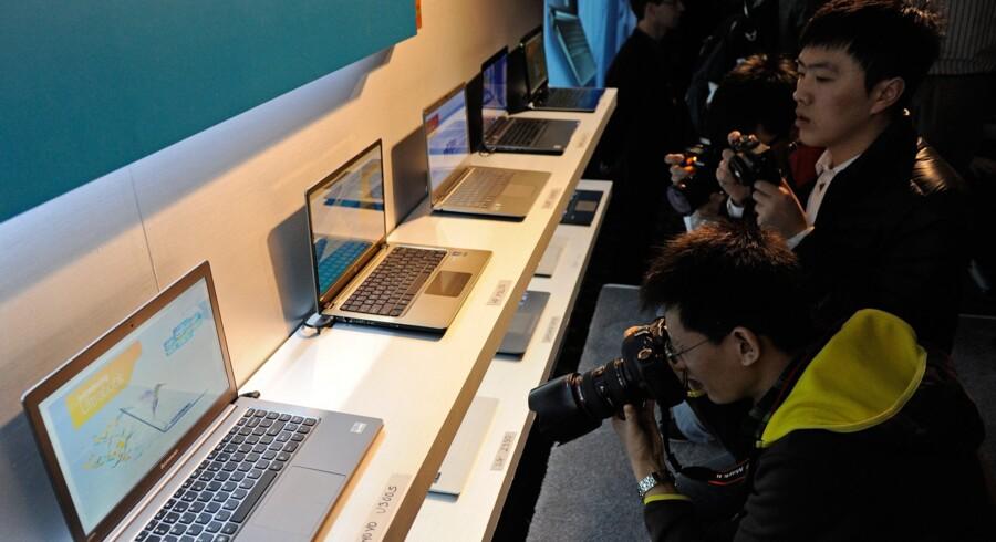 Acer, Asus, HP, Lenovo, LG, Samsung og Toshiba disker op med deres nye modeller på verdens største messe for forbrugerelektronik, Consumer Electronics Show (CES) i denne uge. 15 modeller er klar, og flere end 60 andre kommer på markedet i 2012.