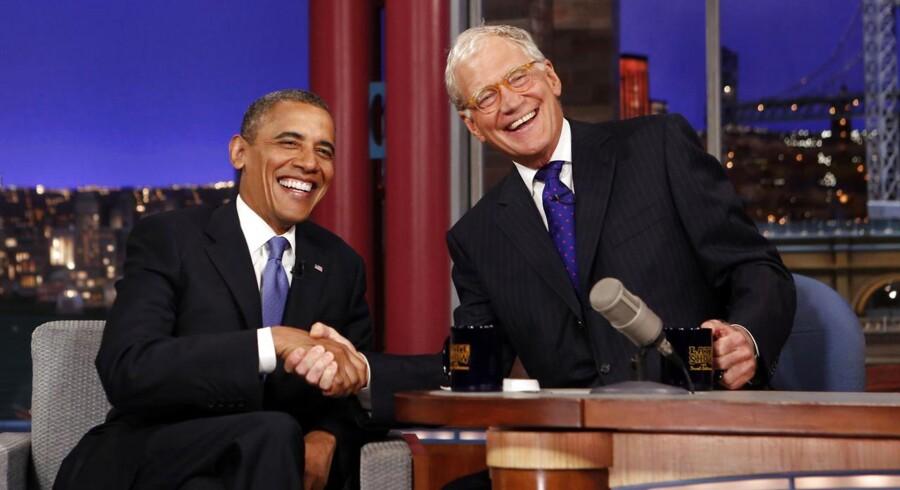 Den populære talkshow-vært David Letterman annoncerede torsdag aften, at han går på pension.