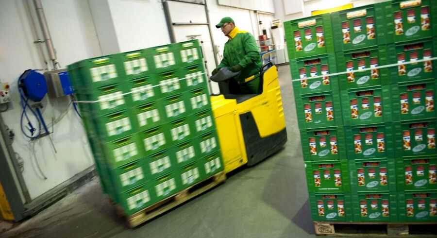 Arla Foods vokser voldsomt i Rusland for tiden og venter at runde en omsætning på én milliard kroner.