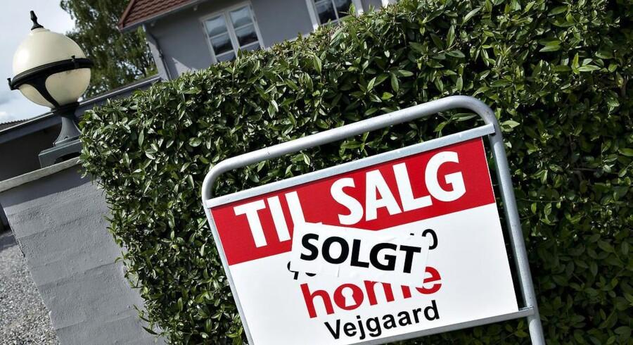 Tal fra Nykredits Huspristillid viser, at 53 pct. af danskerne forventer prisstigninger over de kommende 12 måneder. (Foto: Henning Bagger/Scanpix 2013)