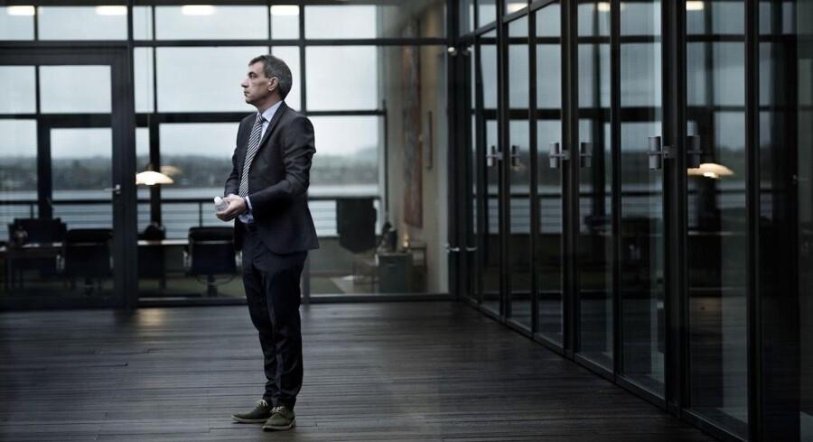 Lars Petersson, adm. direktør i Sparekassen Sjælland, kan præsentere et overskud på 118,9 mio. kr. for 2014.