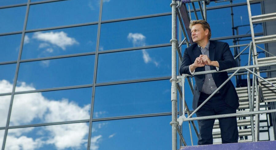 Claus Hougesen, den danske koncernchef for Atea, indleder nu anden sparerunde på under en måned. Arkivfoto: Nikolai Linares