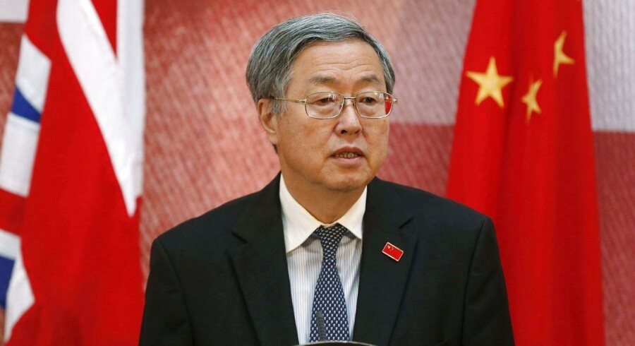 Den kinesiske centralbankchef Zhou Xiaochuan.
