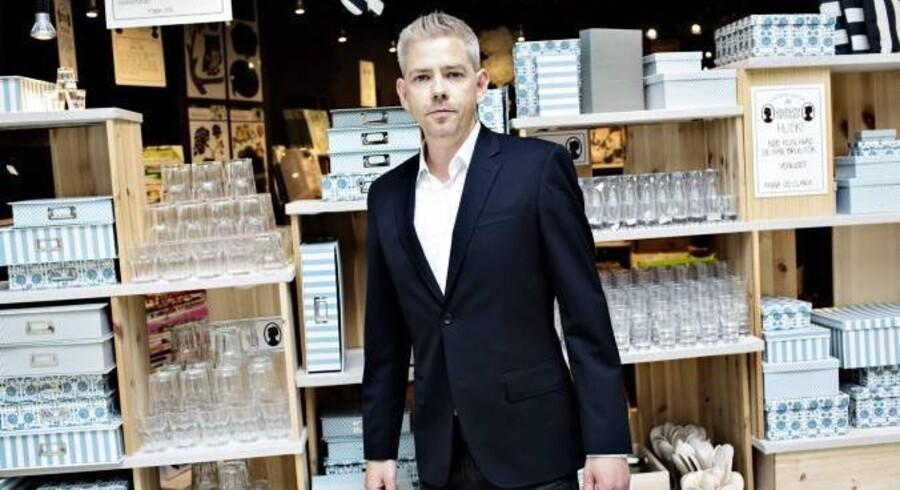 Mikkel Grene står i spidsen for familieforetagendet Søstrene Grene og vil i løbet af de næste par år åbne 100 nye forretninger. Foto: Søstrene Grene