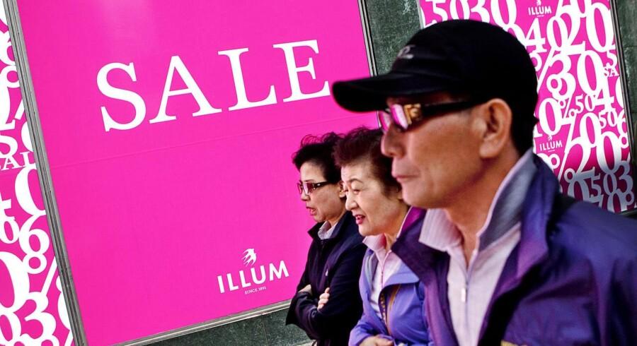 Selvom flere af de danske modebutikker benytter sig af e-handel, er det stadig salget i butikkerne, der trækker den største del af omsætningen.
