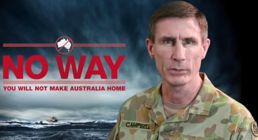 Screendump fra den australske kampagnevideo.