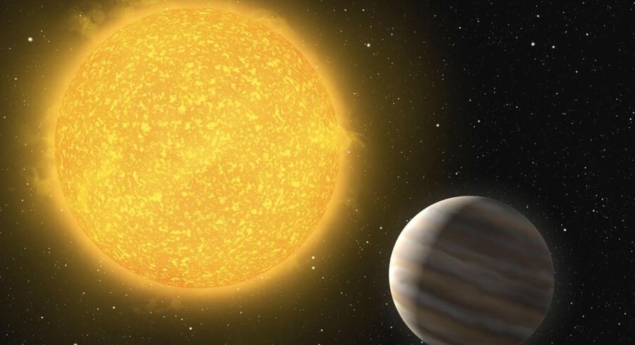 Planeten OGLE-TR-L9b har det trods alt værre end Jorden. Den er allerede nu så tæt på sin supervarme stjernesol, at dens atmosfære koger. Denne sol er den varmeste, man hidtil har fundet med en planet.