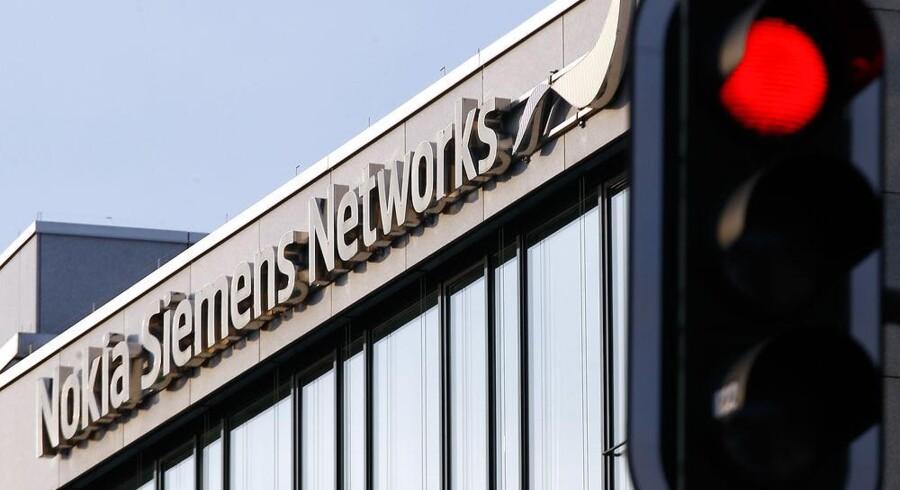 En af Nokia Siemens Networks' fabrikker lukkes nu. Foto: Michael Dalder, Reuters/Scanpix