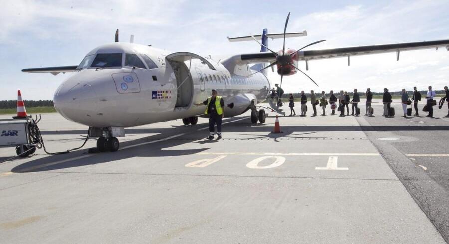 Det bliver ikke i 2015, at der kommer afklaring på en ny østjysk lufthavn.