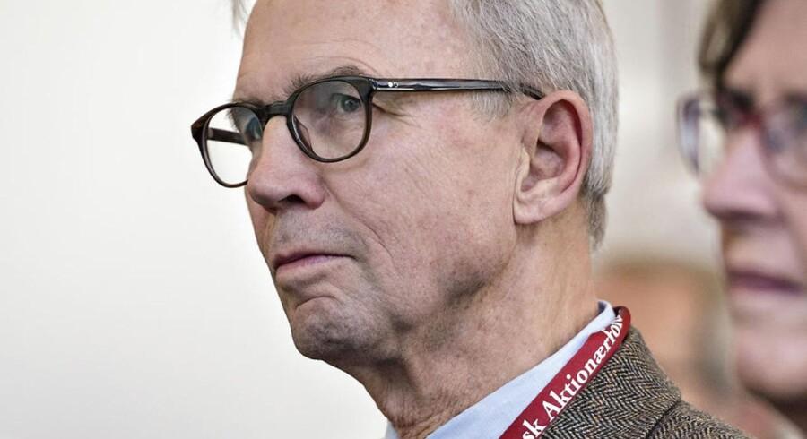 Dansk Aktionærforenings formand Niels Mengel.