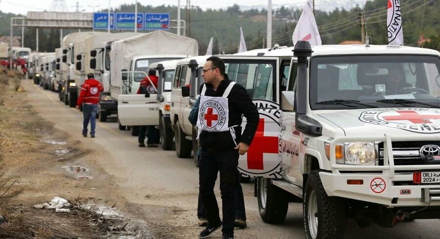 Madaya får nu nødhjælp.
