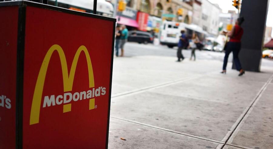 Den amerikanske fast food-gigant McDonald's kom ud af tredje kvartal helt som ventet blandt analytikerne