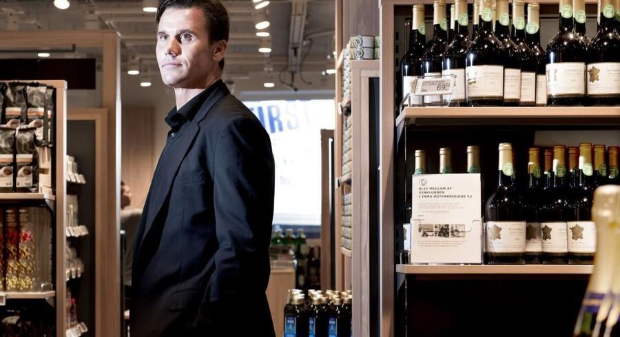 Irma lancerer nyt koncept og åbner 20 nye butikker - den første på Østerbrogade. Her Irmas salgschef Allan Kristoffersen, som har udviklet konceptet.