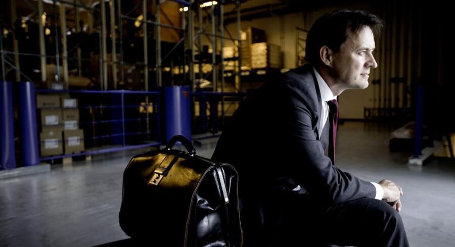Kristian Villumsen, som overtager salgs- og marketingsansvaret for hovedparten af Coloplasts forretning. Den 1. juli bliver han koncerndirektør for salg og marketing og medlem af direktionen hos et af landets mest succesrige virksomheder.