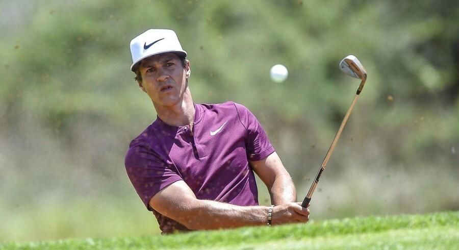 Arkivfoto. Golfspilleren Thorbjørn Olesen gik fredagens runde fem slag under banens par.