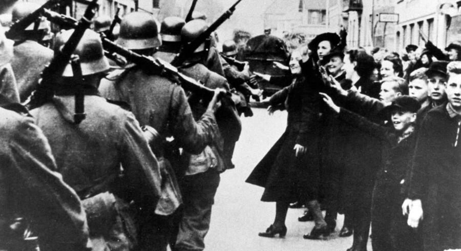 Arkivfoto: Da Danmark blev besat.