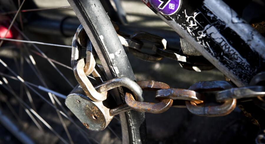 En opgørelse fra Politiken viser, at der bliver stjålet en cykel hvert ottende minut i Danmark.