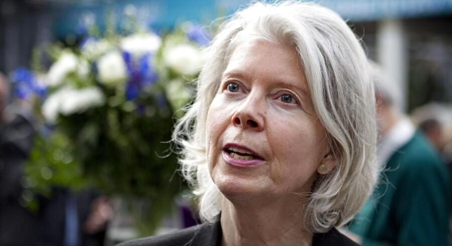 Arkivfoto. Mærsk-arvingen Ane Mærsk Mc-Kinney Uggla stormer ind på listen over de top ti rigeste i Sverige.