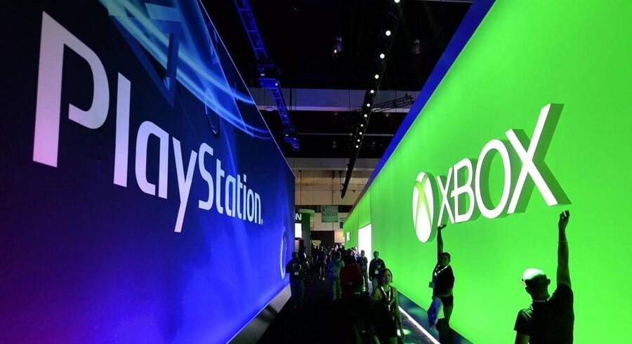Sonys nye Playstation 4 og Microsofts nye Xbox One får konkurrence fra en ny og ikke ubetydelig spiller, når Google agter at kaste sig ind i konsolkrigen. Arkivfoto: Michael Nelson, EPA/Scanpix
