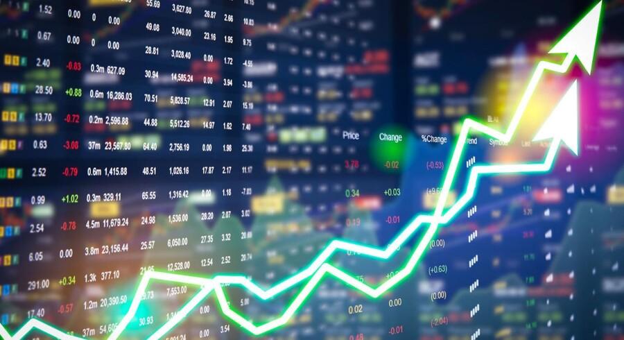 Pilen peger mod grønt fra morgenstunden på C25 ovenpå en særdeles positiv dag på de amerikanske børser i går.