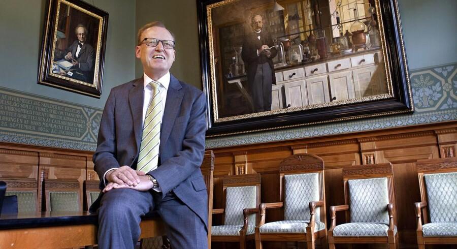 Formand for Carlsbergfondet Flemming Besenbacher har banet vejen for nye investeringer i Carlsberg.