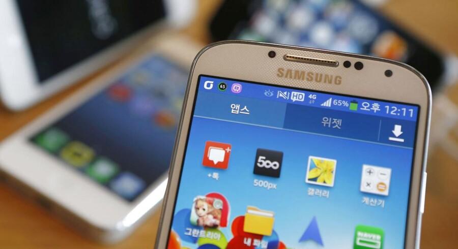 Galaxy S4 er blandt de mest omtalte Android-mobiler lige nu.