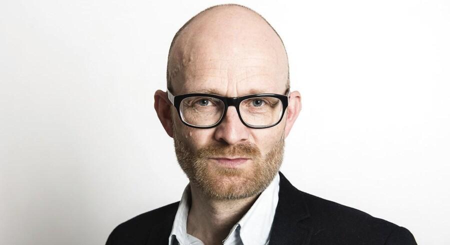 Erhvervsredaktør på Berlingske, Peter Suppli Benson.