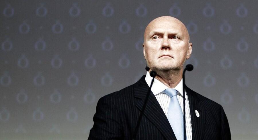 Pandoras direktør Allan Leighton overtog i april i år ledelsen i det danske smykkefirma for at genetablere brandet.