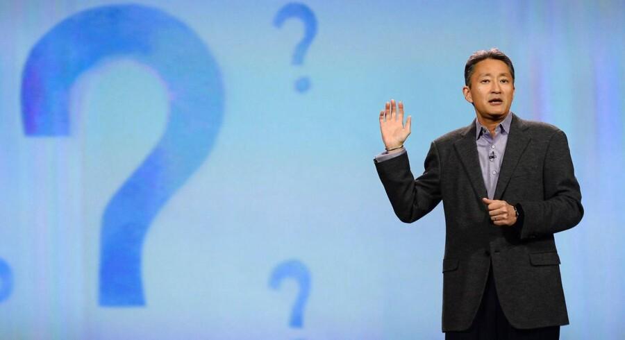 Sonys topchef, Kazuo Hirai, er ved at rydde op i koncernen og forhandler efter sigende om at sælge Sonys PC-division med Vaio som det kendte mærke. Arkivfoto: Ethan Miller, AFP/Scanpix