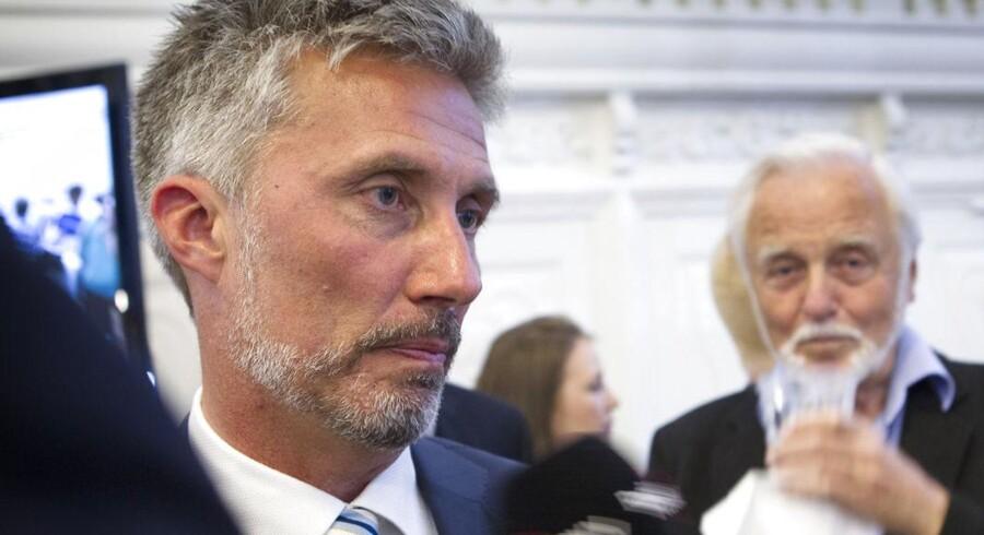 Morten Løkkegaard (V) kan få comeback i Europa-Parlamentet, hvis Jens Rohde (V) ender som borgmester i Viborg Kommune.