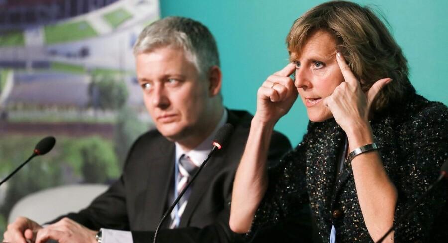 Som EUs klimakommissær har Connie Hedegaard leveret et offensivt udspil under klimakonferencen COP19 i Warszawa. Foto: Pawel Supernak/EPA