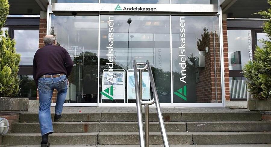 Danske Andelskassers Banks Hovedsæde på Viborgvej i Hammershøj