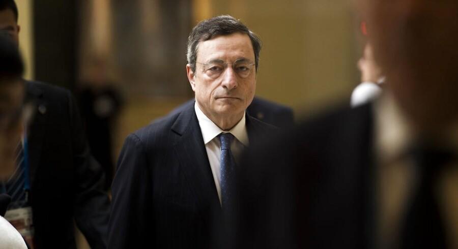 ECD-bossen Mario Draghi