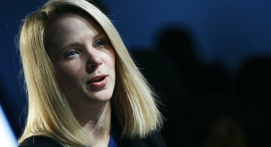 Marissa Mayer er Yahoos tredje topchef på et år. Hun kom fra Google, hvor hun var ansat nummer 20. Foto: Pascal Lauener, Reuters/Scanpix
